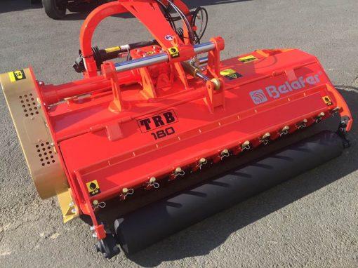 trituradora TRB-Raw belafer detalle porton hidraulico
