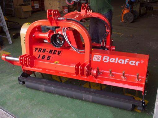 trituradora reversible TRB-REV reforzada naranja