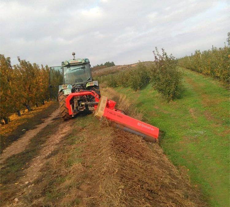 Trituradora TBL-L semisuspendida. Maquinaria agrícola Belafer